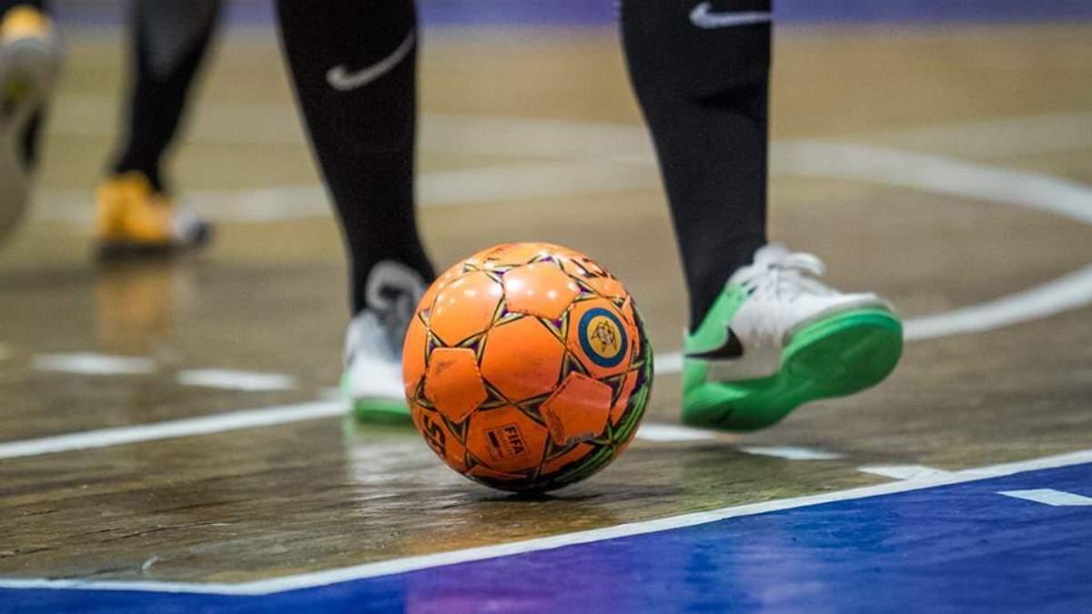 Диво-гол українського футзаліста