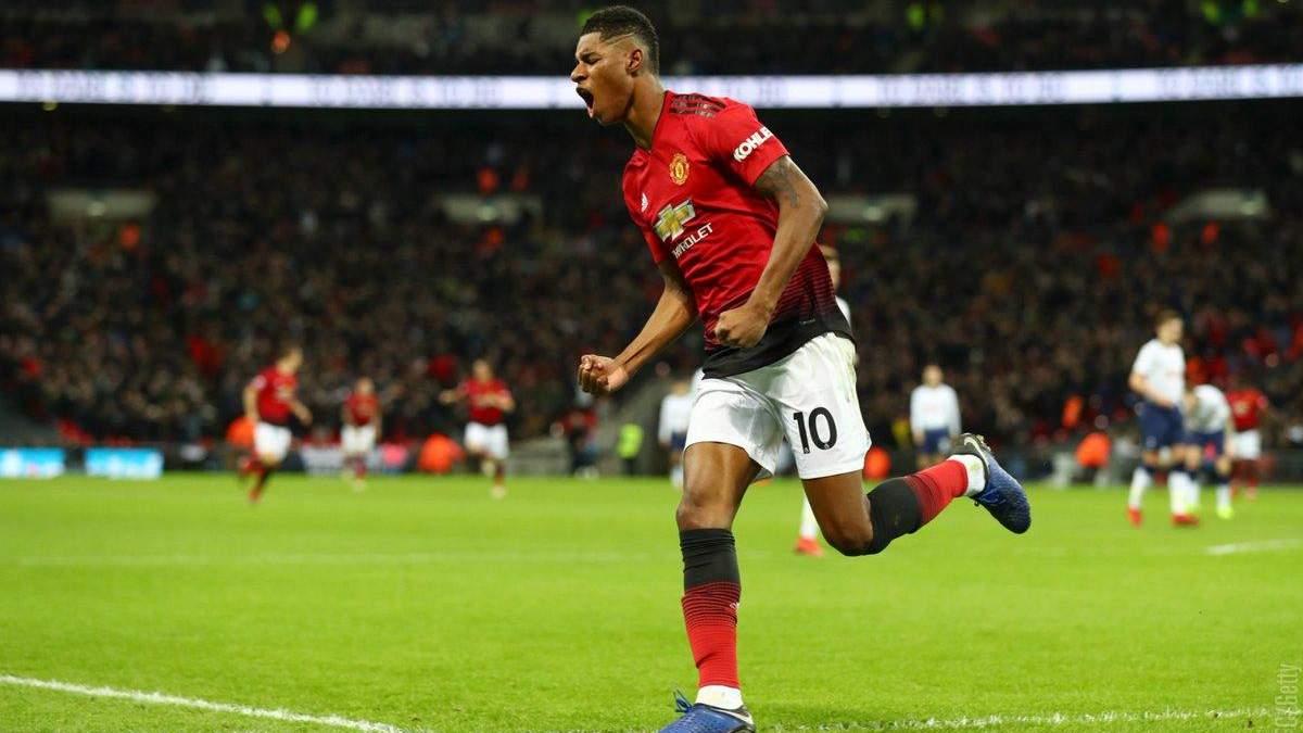 Тоттенхем - Манчестер Юнайтед: відео голів