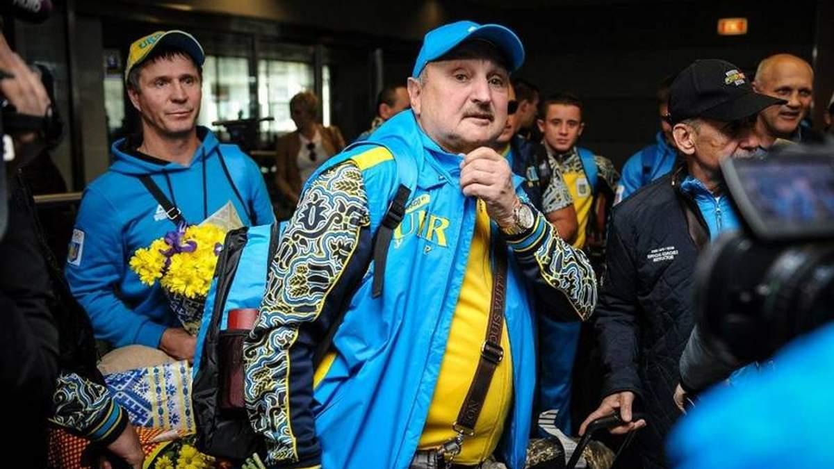 Сосновський покинув збірну України