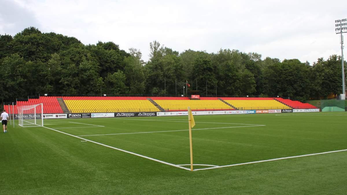 Сборная Украины сыграет матч отбора в Евро-2020 на стадионе, который вмещает 5 тысяч зрителей