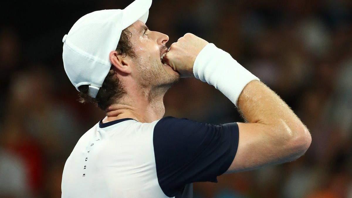 Маррей програв перший матч на Australian Open