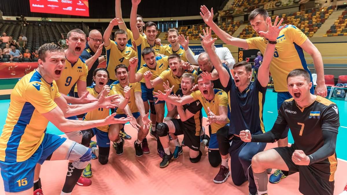 Збірна України з волейболу потрапила на Євро-2019