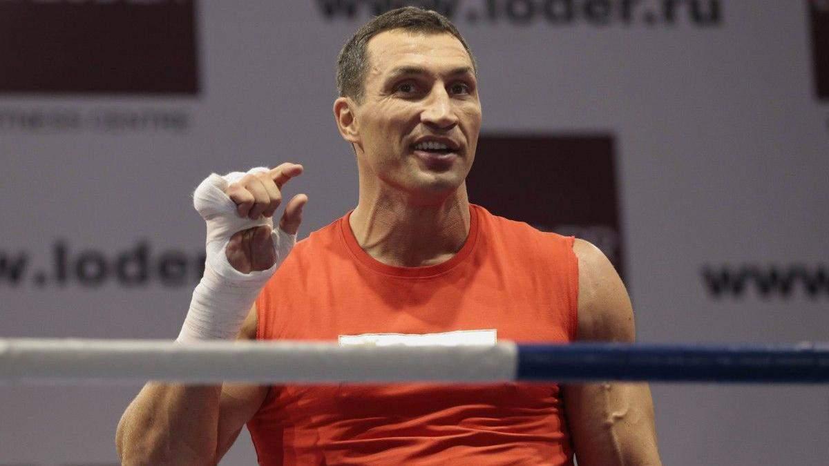 Володимир Кличко у кроці від повернення на ринг
