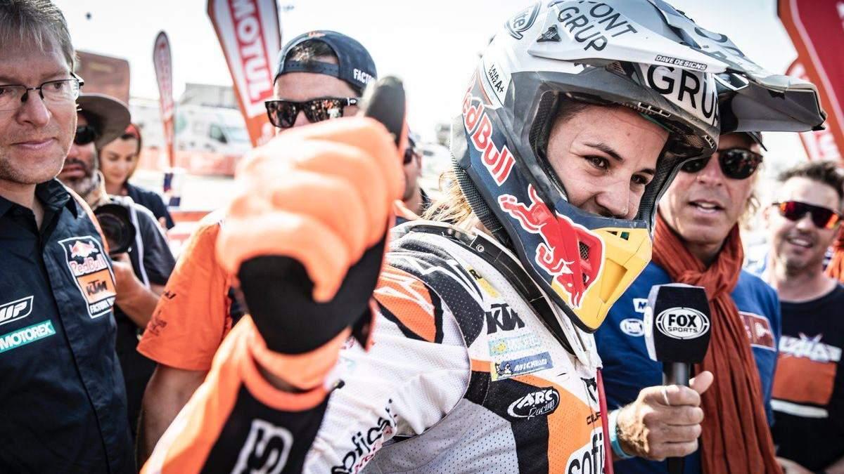 Анастасія Ніфонтова подолала гонку без допомоги механіків