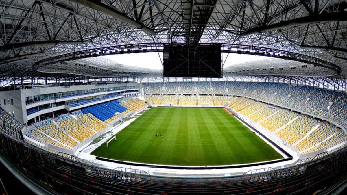 """Матч сборной Украины на """"Арене Львов"""" могут перенести, – директор стадиона"""