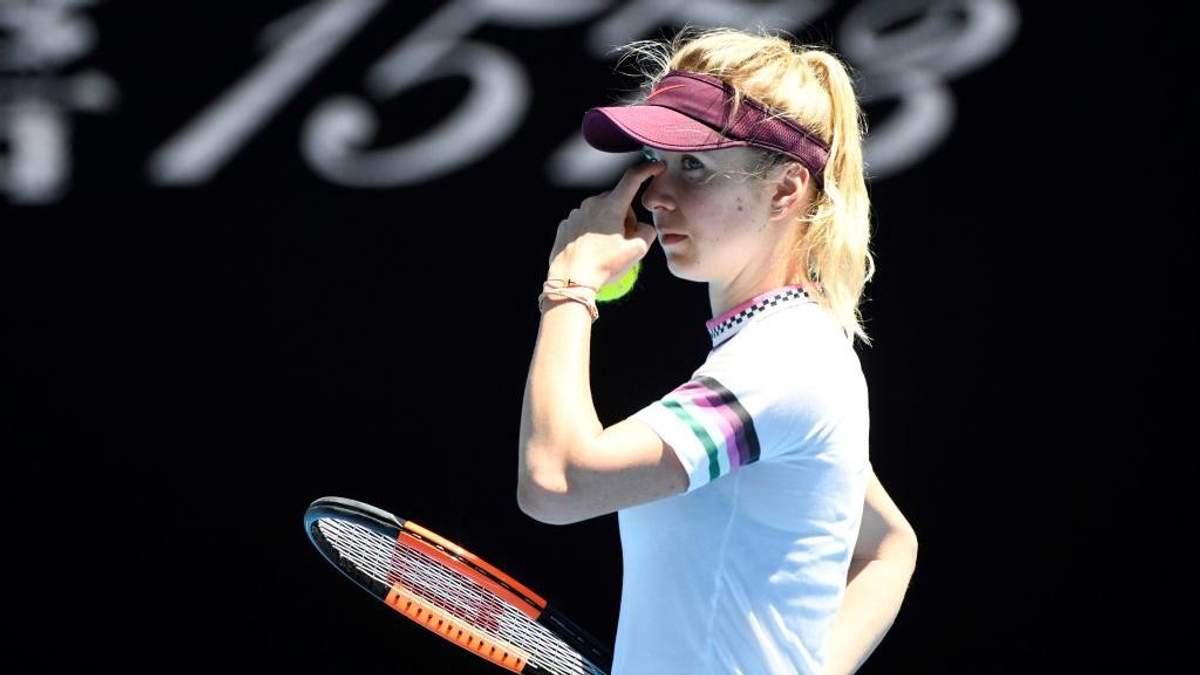 Australian Open 2019: Еліна Світоліна вилетіла