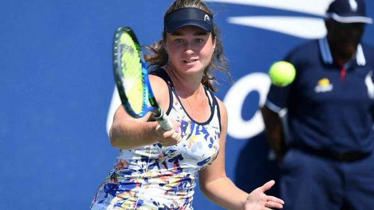 Дарія Снігур вийшла до півфіналу юніорського турніруAustralian Open