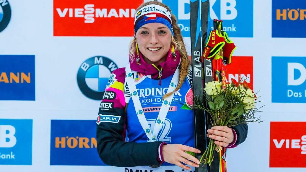 Біатлон: Меркушина – 35-а в Антхольці, чешка Давидова несподівано виграла спринт
