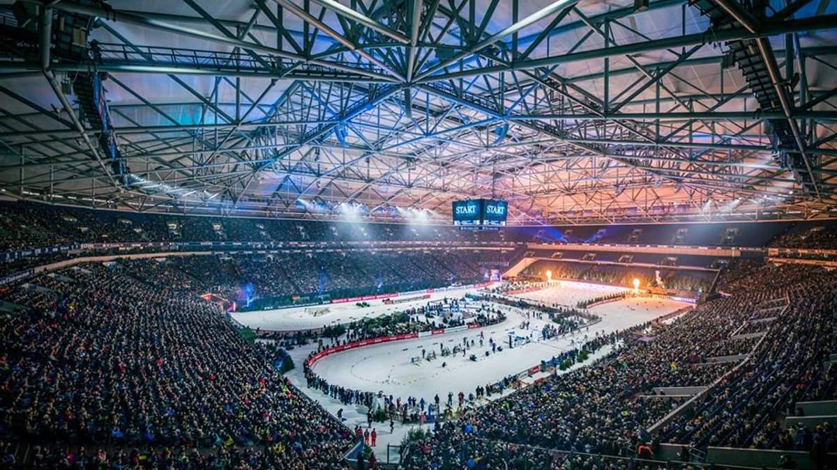 """Стадіон """"Фельтінс-Арена"""" під час Різдвяної гонки 2018"""