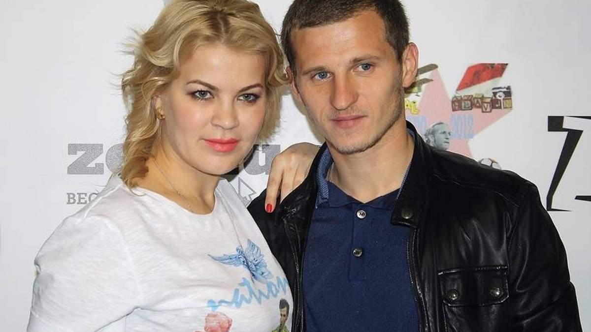 Олександр Алієв з колишньою дружиною