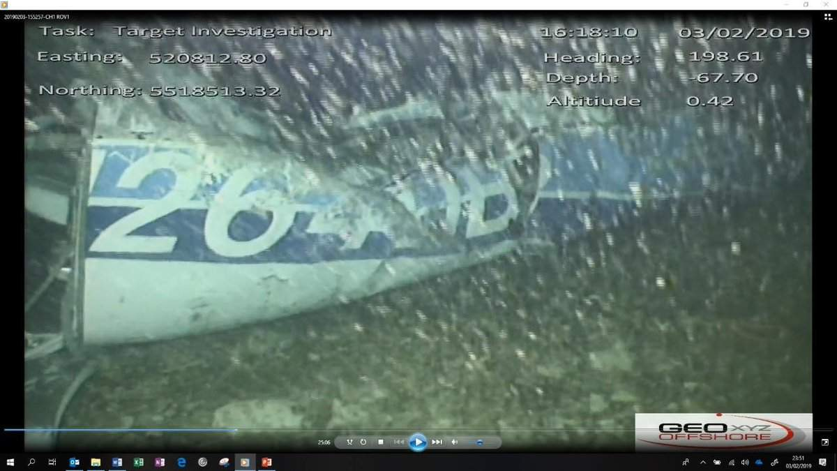 Поиски Эмилиано Сала: нашли самолет с телом на дне Ла-Манша