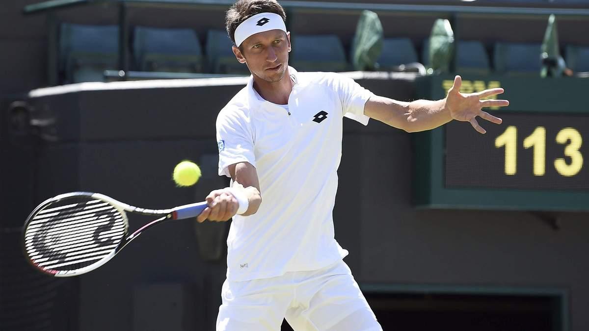 Стаховський несподівано поступився у кваліфікації турніру ATP в Болгарії