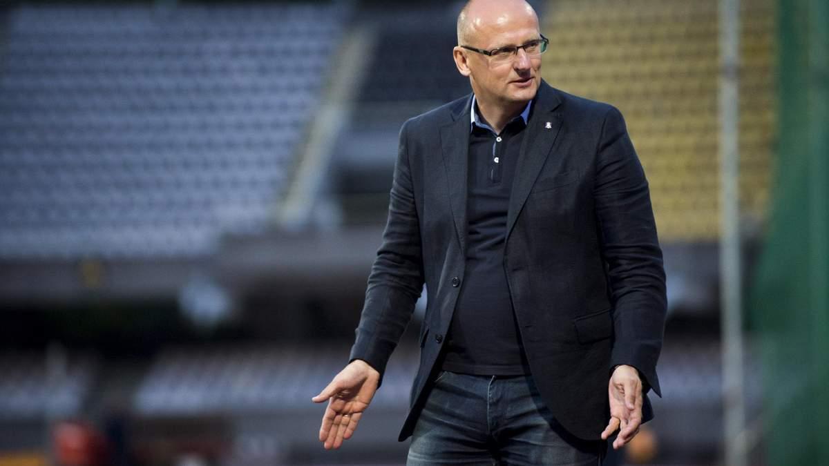 Вальдас Урбонас очолив збірну Литви