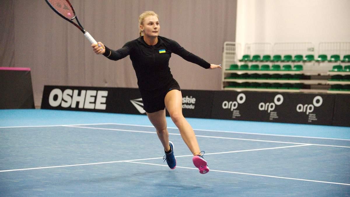 Даяна Ястремська виграла перший матч для збірної України на Кубку Федерації