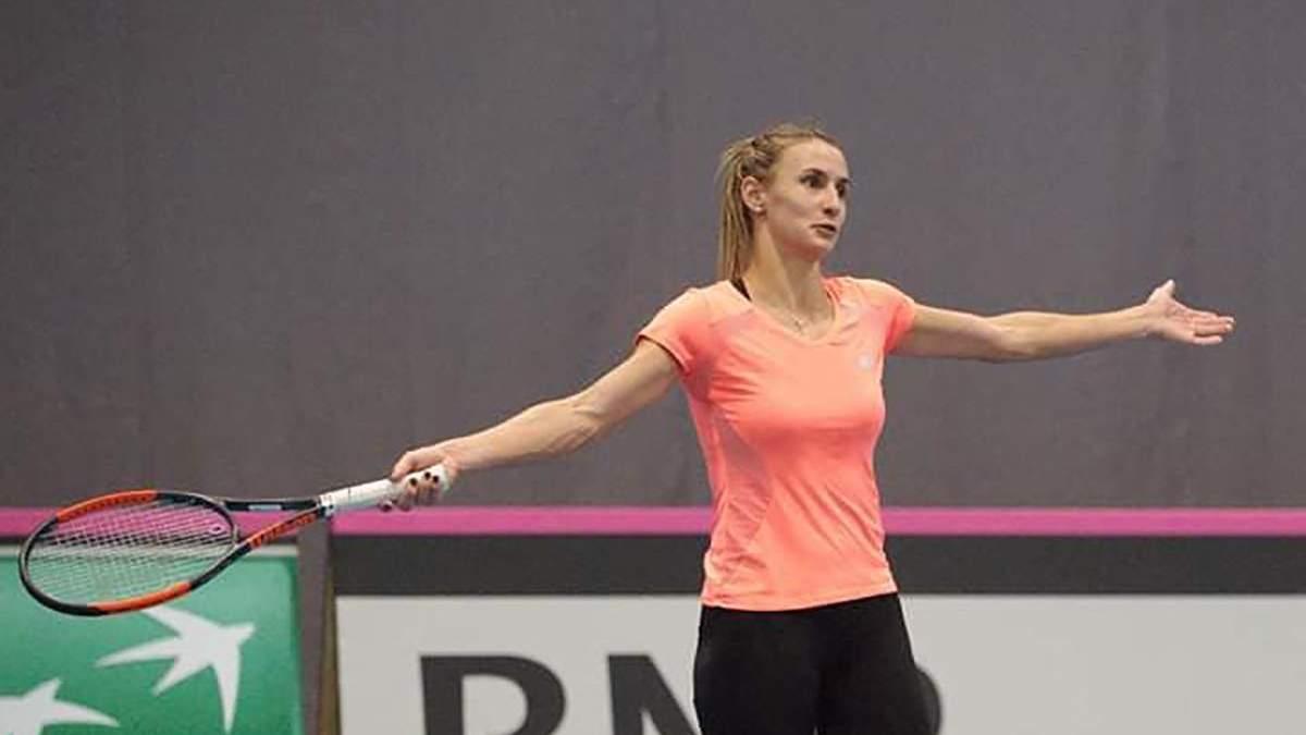 Цуренко разгромно проиграла на Кубке Федерации