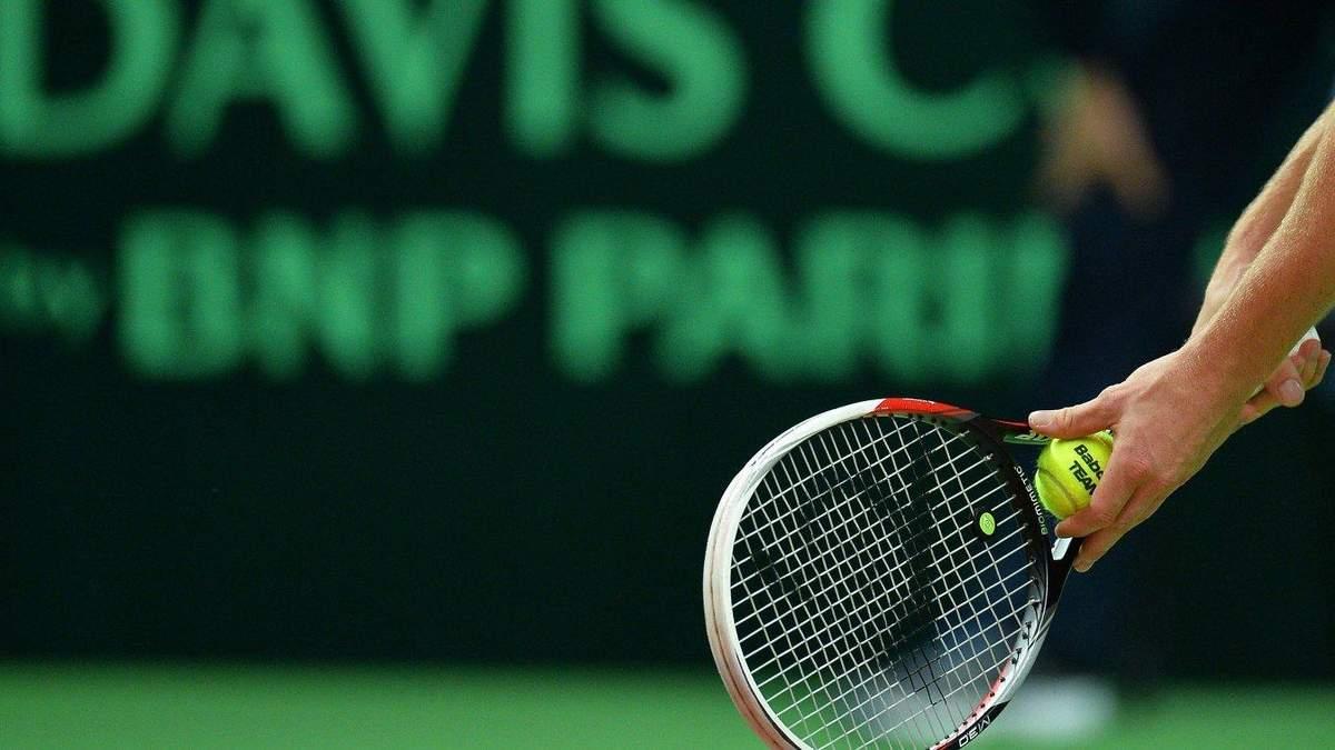 Чоловіча збірна України з тенісу дізналася ім'я суперника у кваліфікації Кубка Девіса