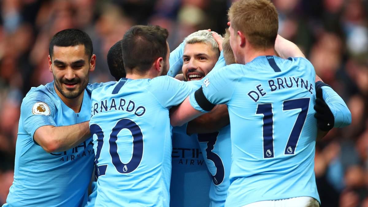 Манчестер Сити - Челси: видео голов, обзор матча АПЛ 2018/19