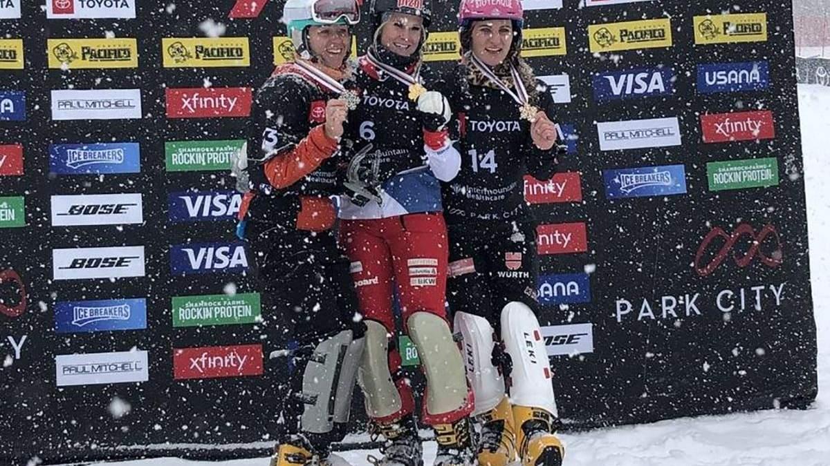 Українська сноубордистка Данча прокоментувала історичне досягнення