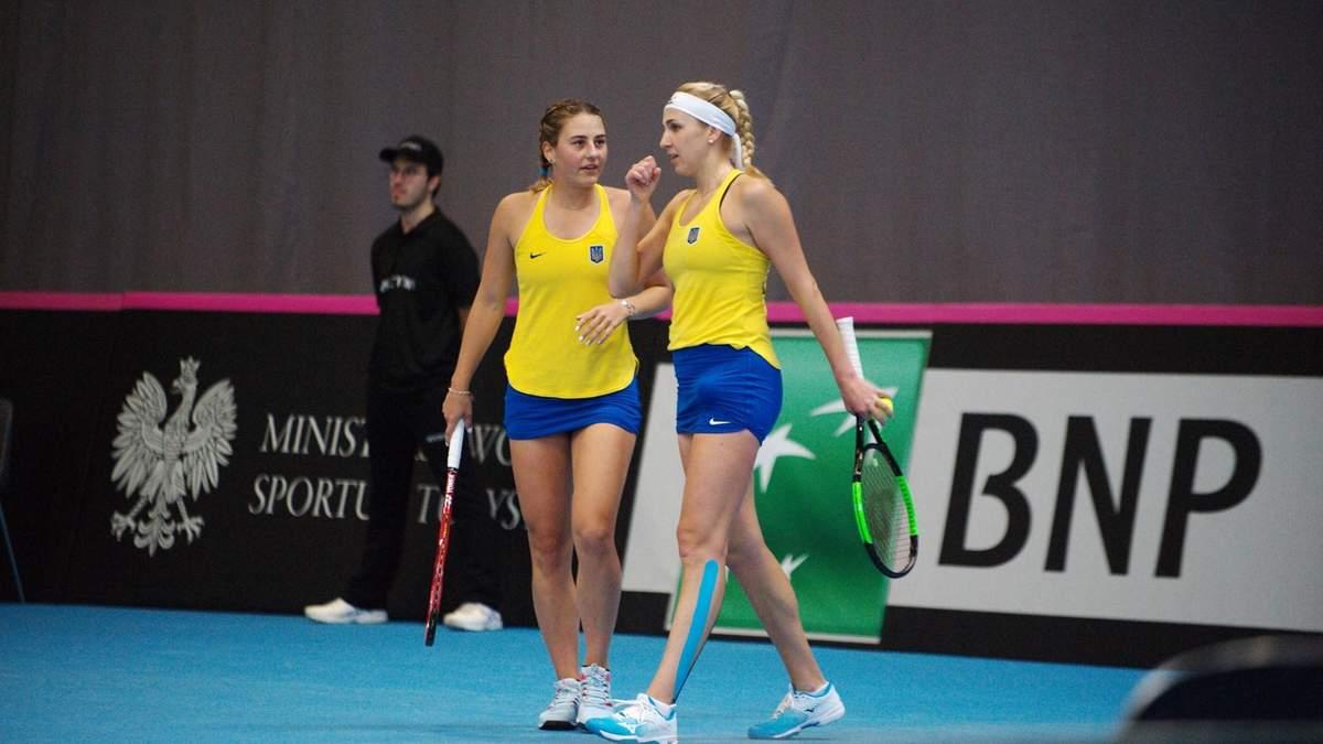 У збірній України з тенісу прокоментували сенсаційну поразку від шведок