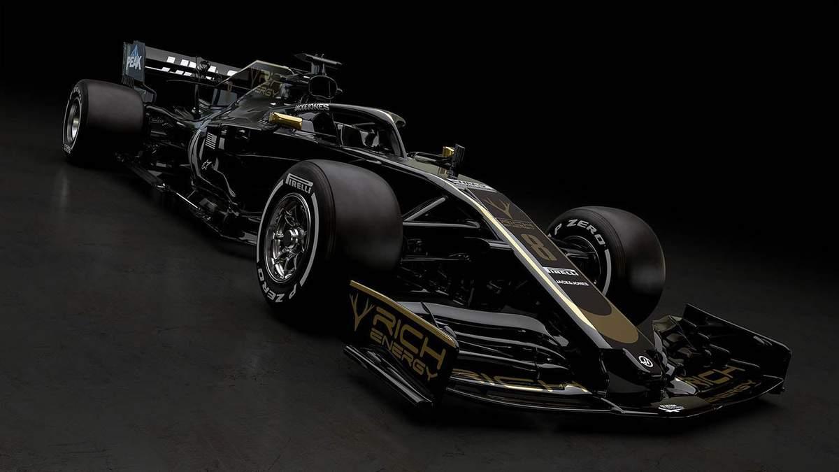 Команда Формули-1 Haas першою представила ліврею нової машини: фото