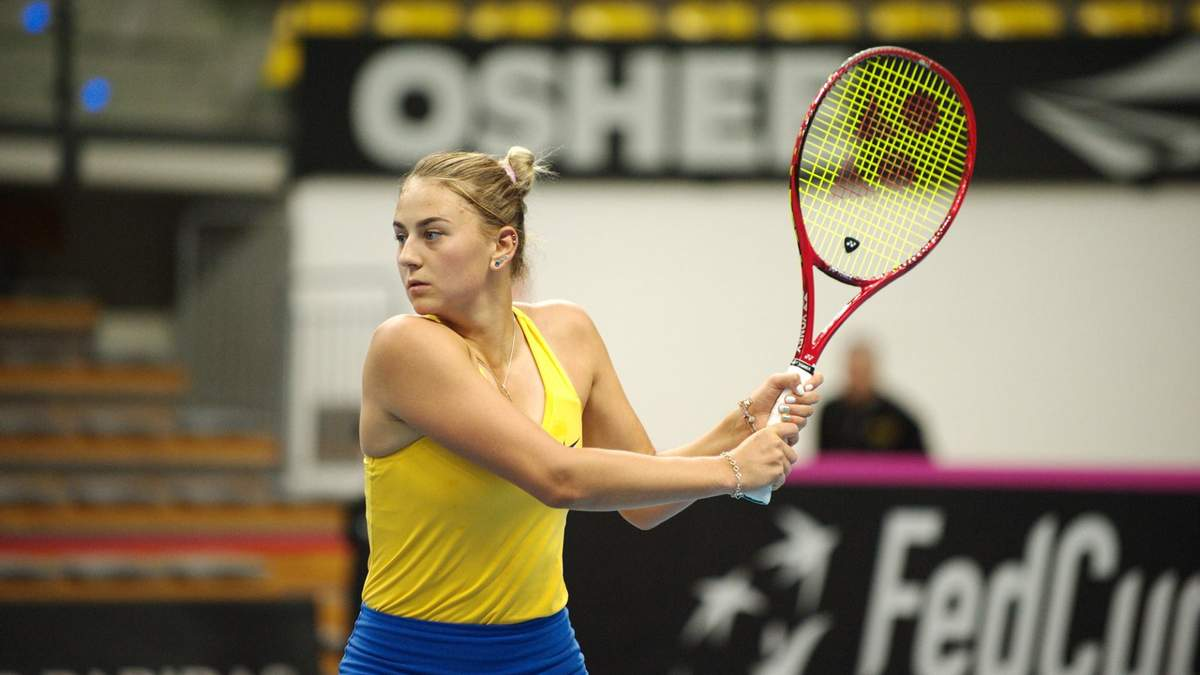 Марта Костюк одержала победу на Кубке Федерации