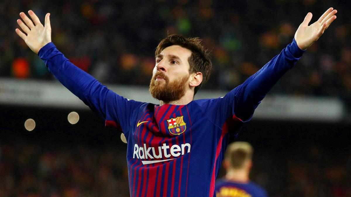 Мессі заробляє найбільше серед футболістів у Європі