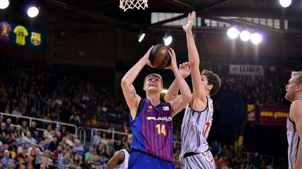 Баскетболисты сборной Украины устроили эффектные разборки в Испании: видео