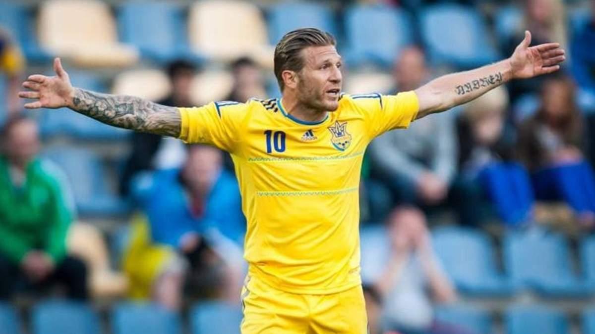 Экс-нападающий сборной Украины Воронин поедет играть в Москву