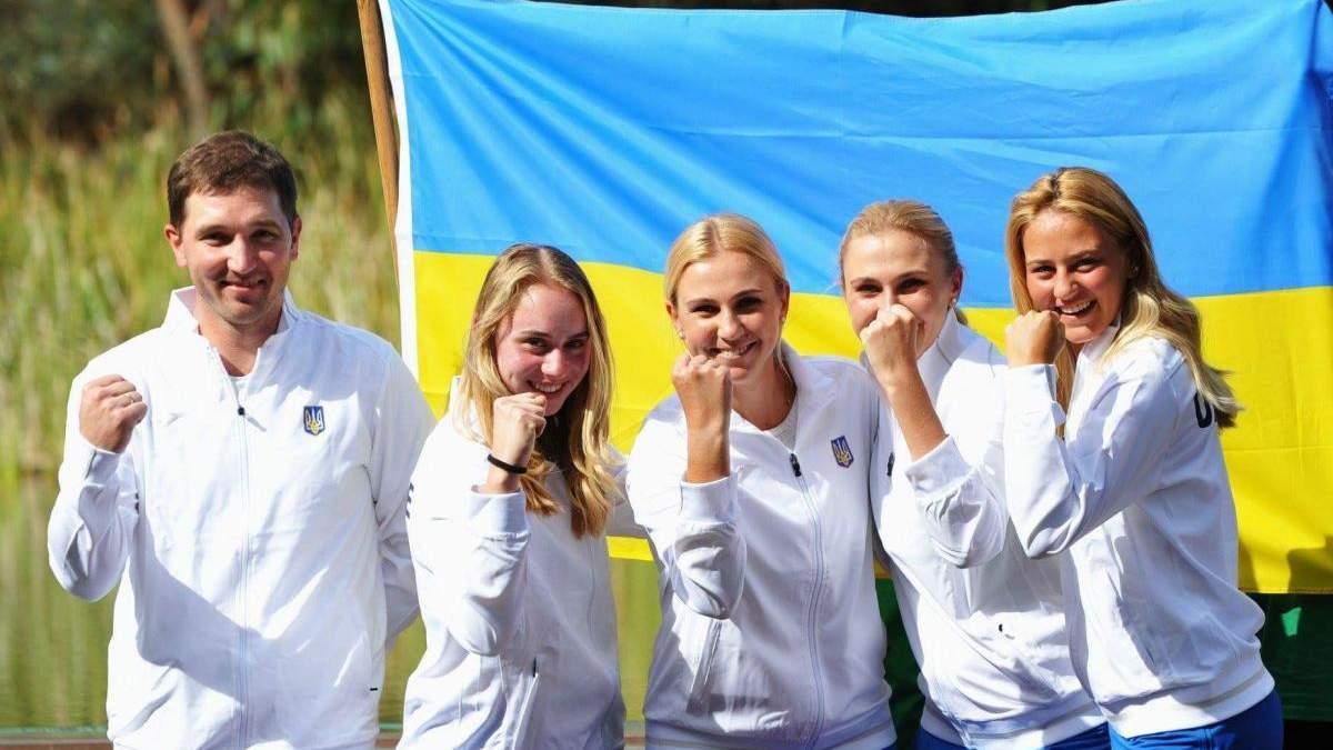 Збірна України втратила позиції у оновленому рейтингу Кубка Федерацій
