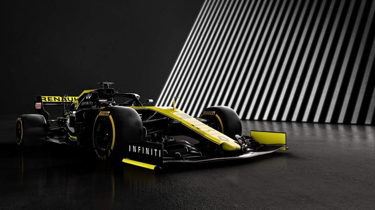 Renault представили болід для нового сезону Формули-1: фото та відео
