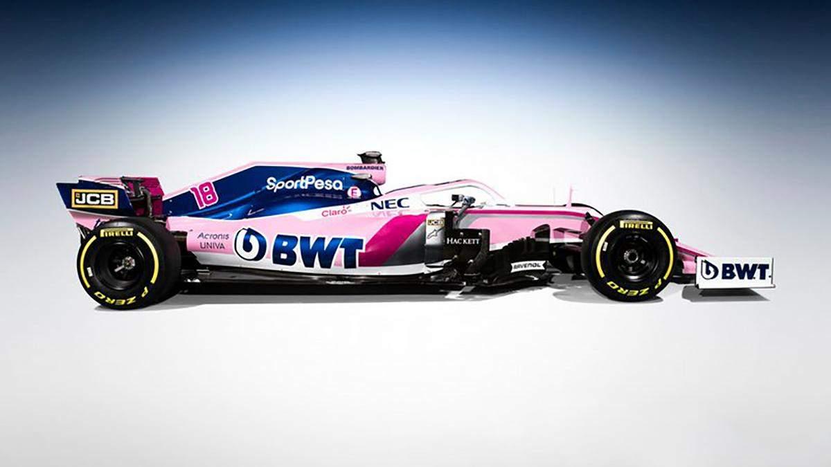 Команда Формули-1 змінила назву та представила новий болід: фото