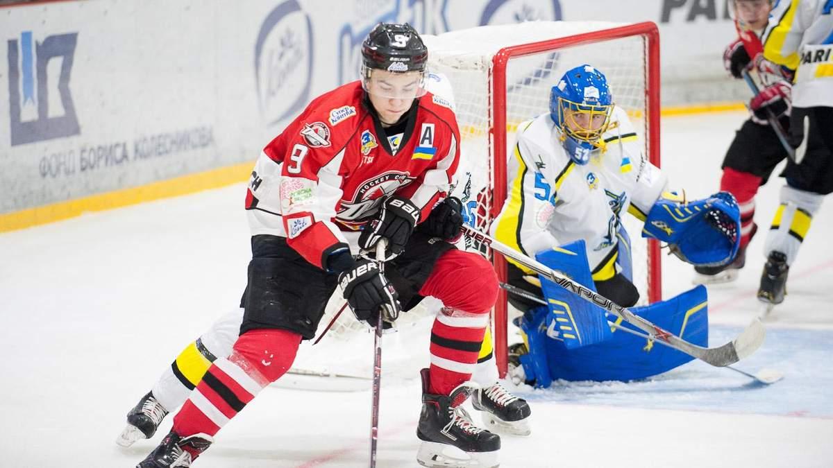 """Хокей: """"Донбас"""" переміг """"Дніпро"""" і вийшов на перше місце в турнірній таблиці"""