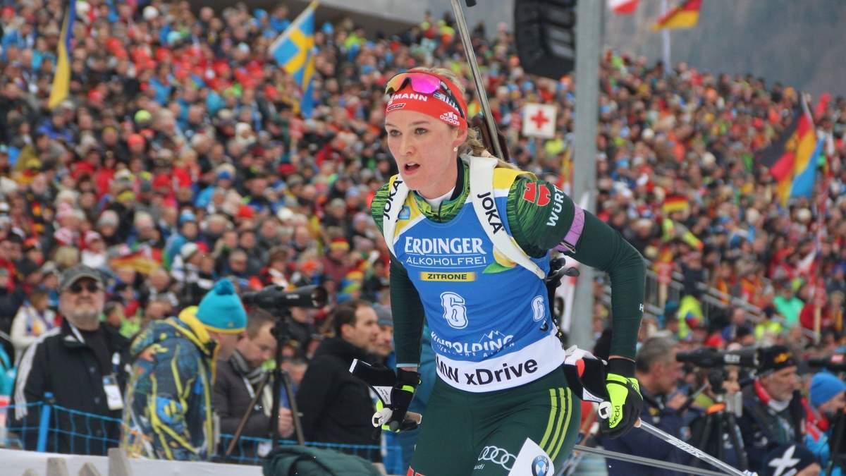 Немка Херрманн выиграла гонку преследования в Солт-Лейк-Сити, украинки провалили гонку