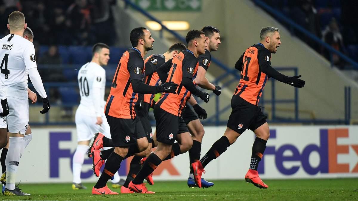 Айнтрахт - Шахтар: прогноз, ставки на матч Ліги Європи 2018/2019