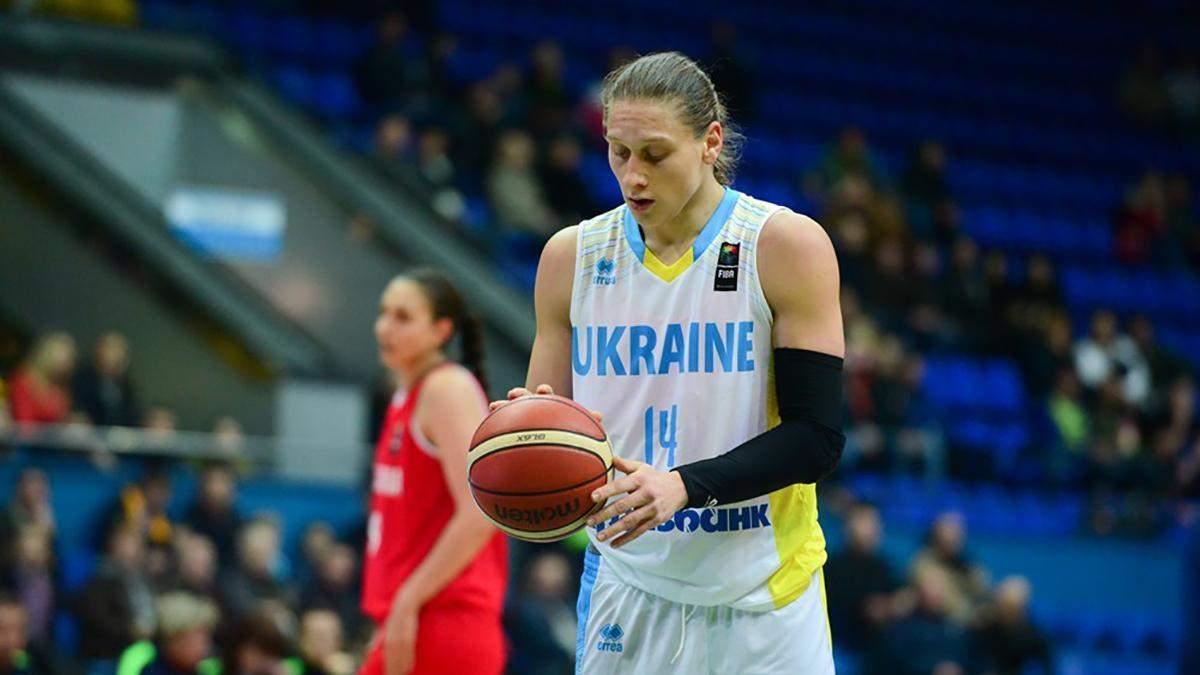 Українська баскетболістка підписала контракт з клубом з жіночої НБА