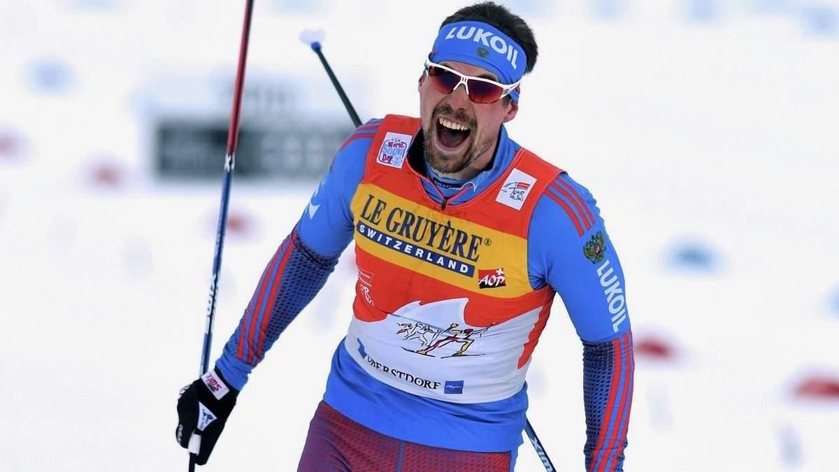 Российский лыжник едва не избил норвежца из-за поражения в гонке: видео