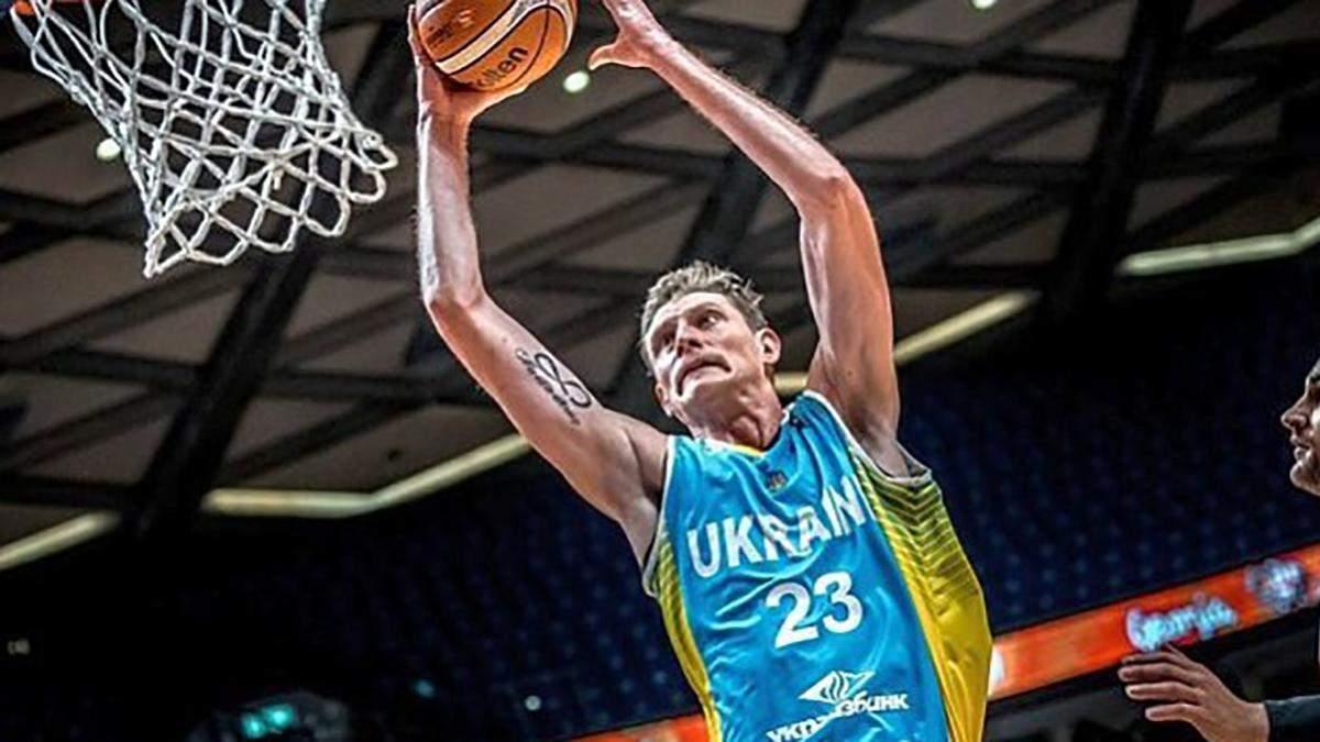 Збірна України з баскетболу втратила топ-гравця перед важливим матчем