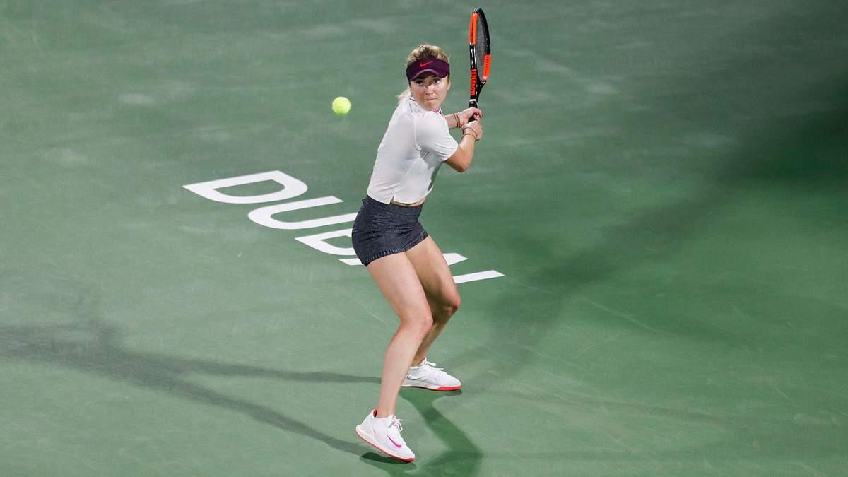 Світоліна поступилася у драматичному півфіналі турніру в Дубаї та не захистила титул