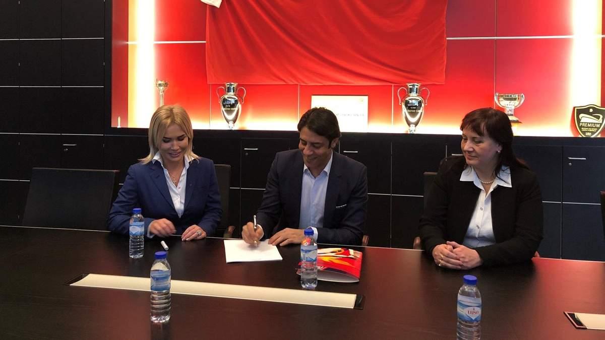 Легендарний європейський клуб відкриє футбольну академію в Україні