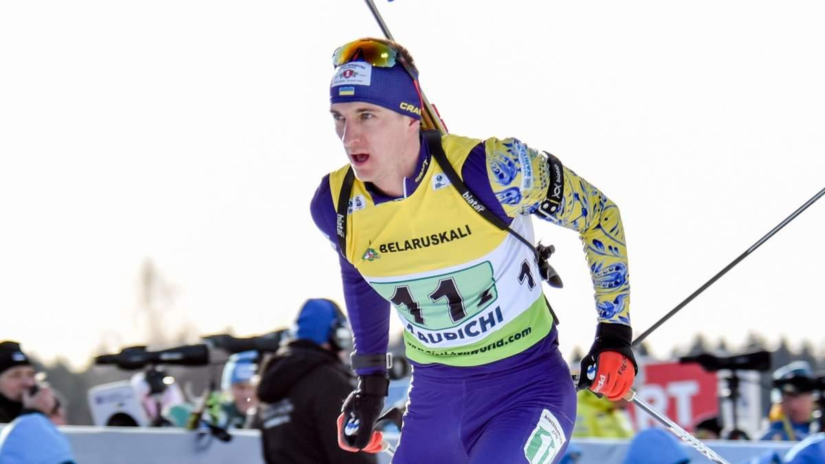 Біатлон: Підручний потрапив у топ-20 на чемпіонаті Європи у спринті, переміг Тар'єй Бьо