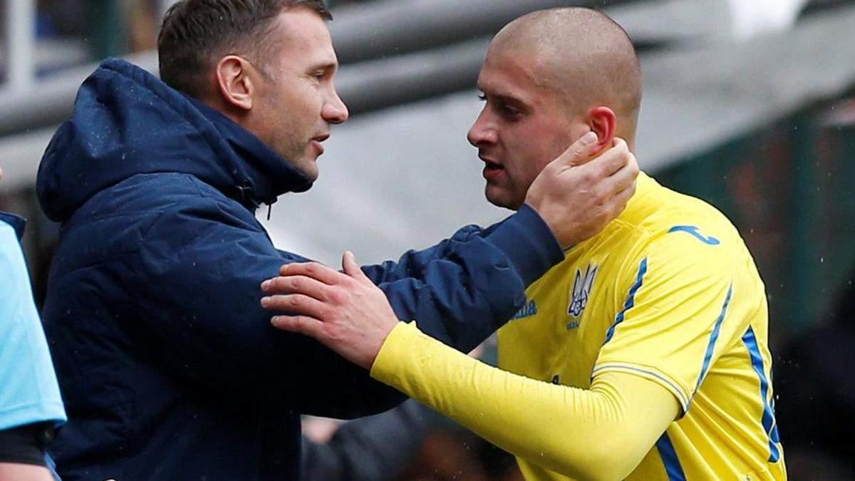 Шевченко определился, будет ли играть Ракицкий за сборную Украины
