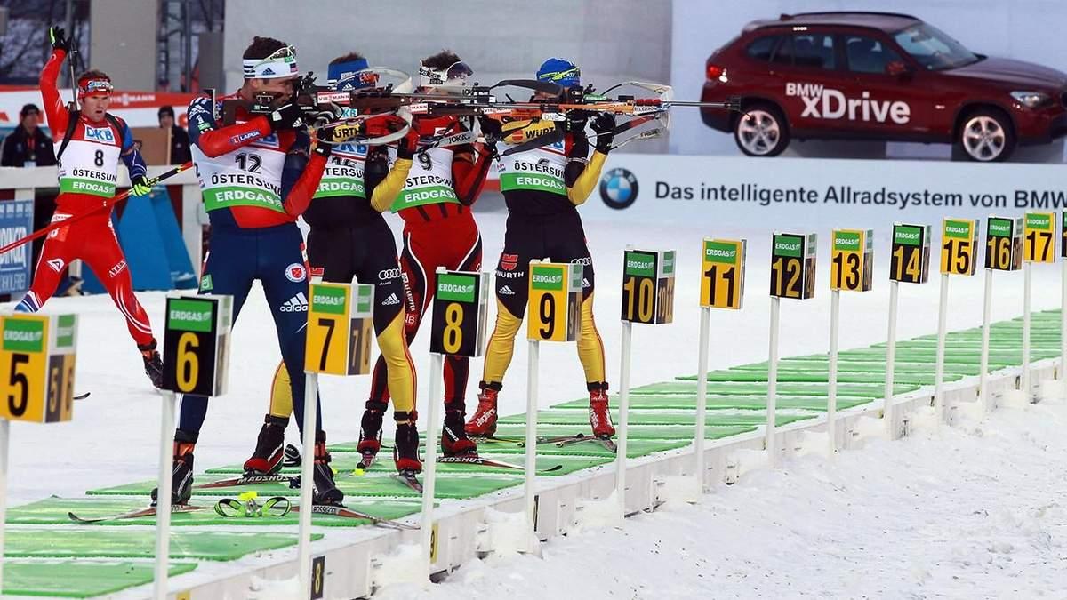 Біатлон: розклад гонок Чемпіонату світу 2019