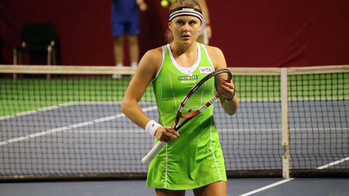 Українська тенісистка розгромно вилетіла з турніру в США