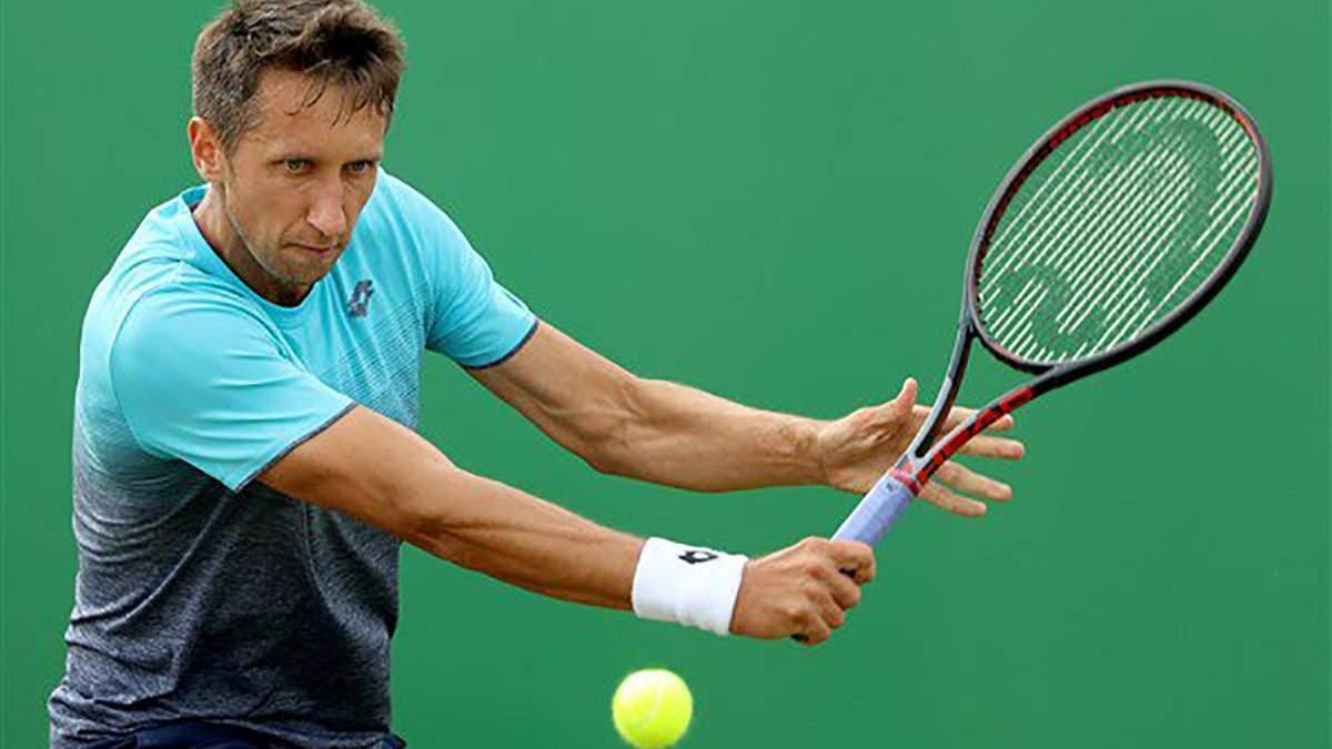 Украинский теннисист Стаховский растрогал публику на турнире во Франции: видео