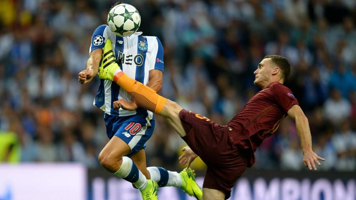 Порту – Рома: прогноз букмекерів на матч Ліги чемпіонів