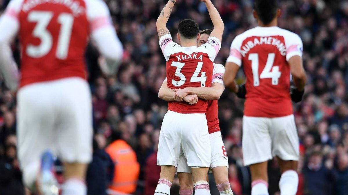 Арсенал - Манчестер Юнайтед: видео голов, обзор матча АПЛ 2018/2019