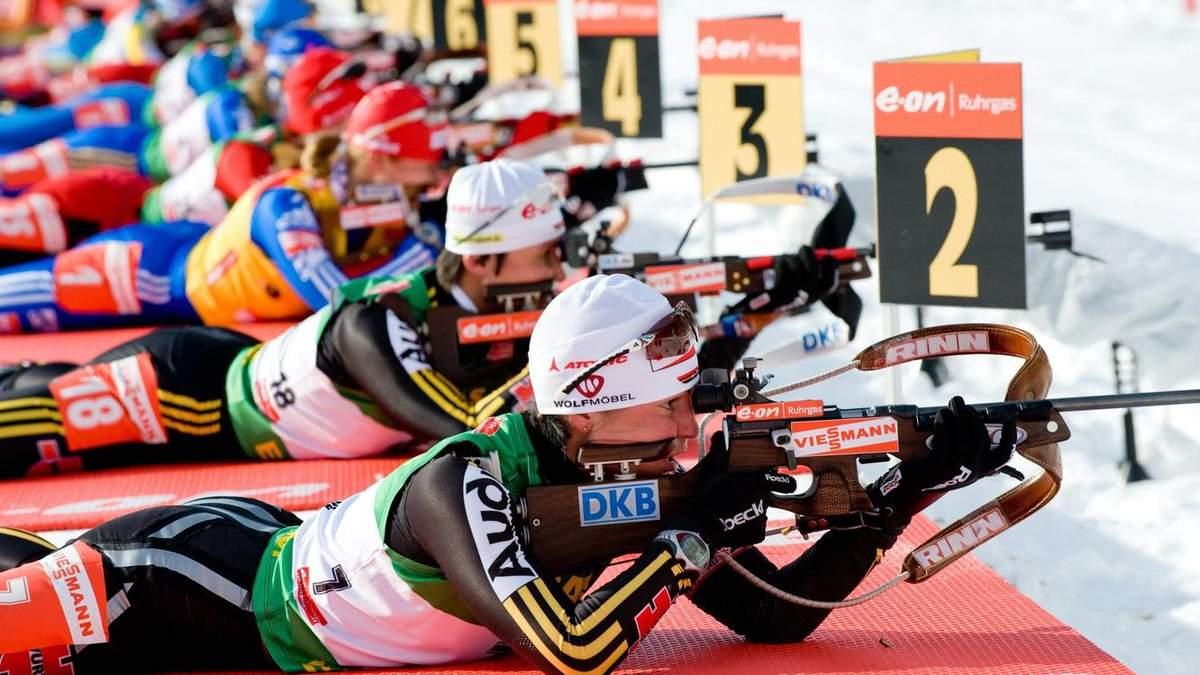 В Швеции биатлонистка едва не застрелила судью