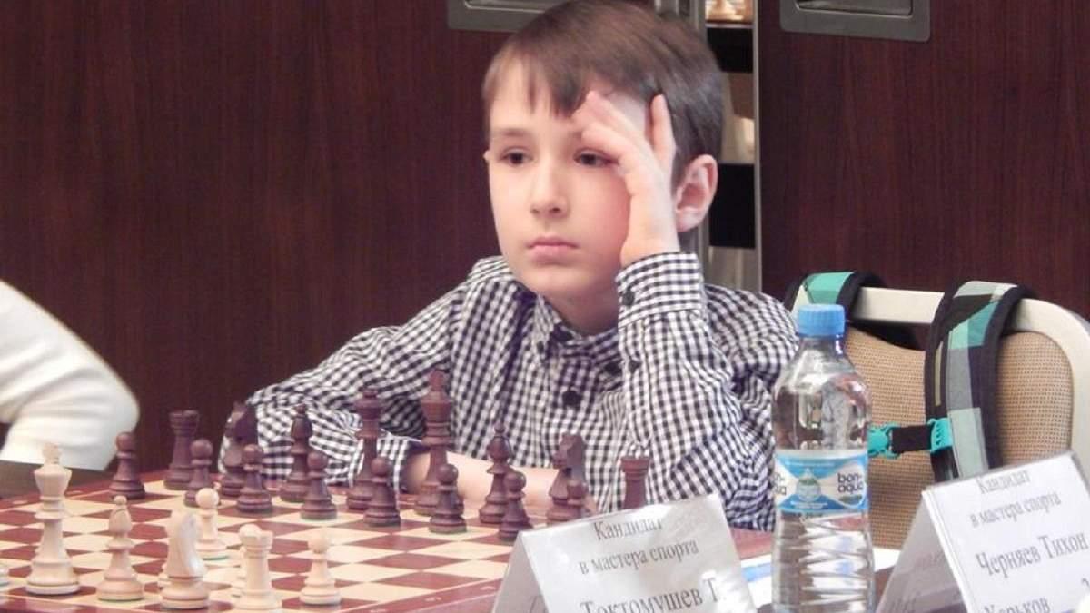 Харьковчанин Тихон Черняев – 9-летний шахматный рекордсмен