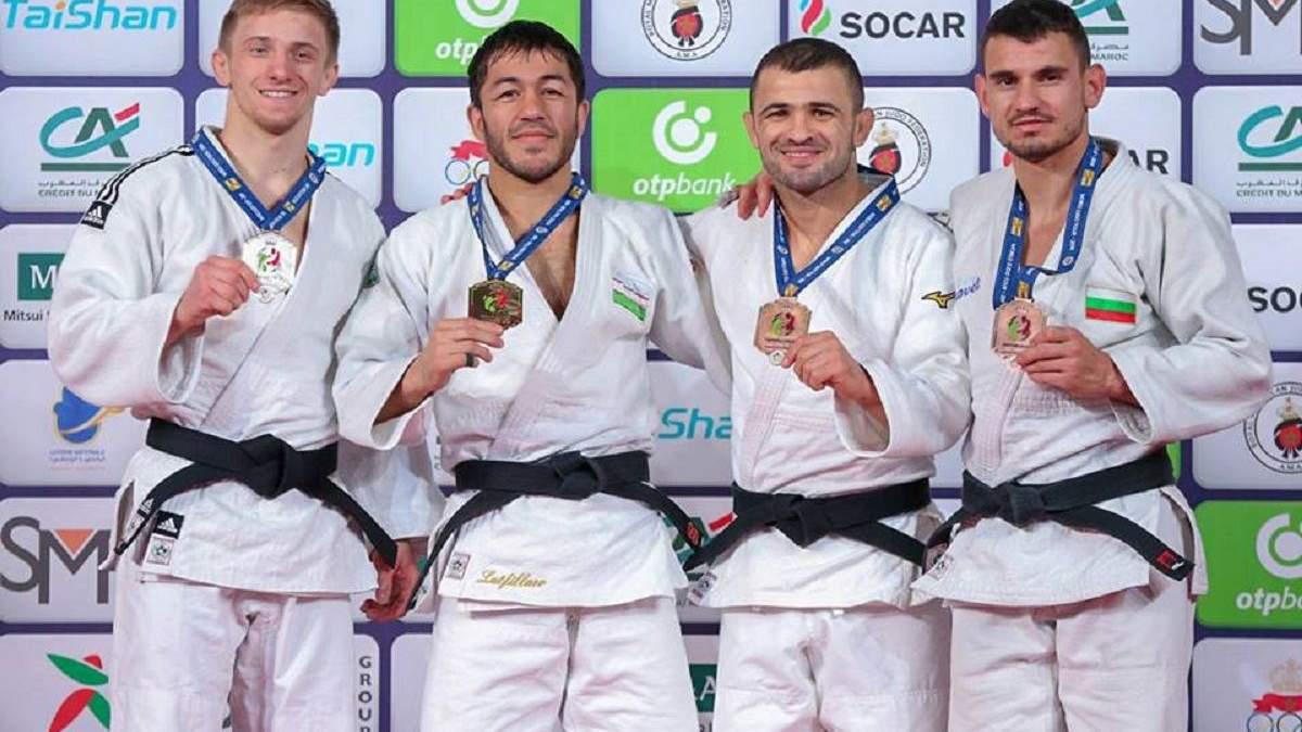 Украинец Лесюк завоевал первое серебро на Гран-при Марракеша по дзюдо: видео