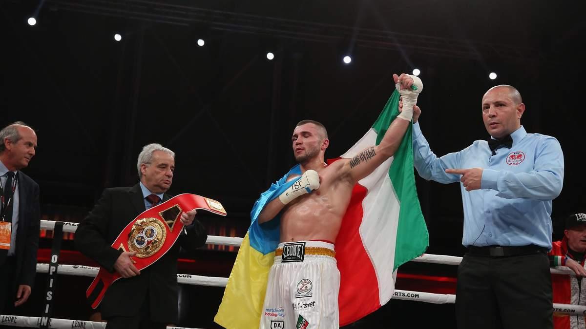 Боксер из Украины завоевал пояс IBF International